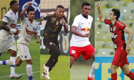 Fortaleza Ceará RB Bragantino e Athletico-PR
