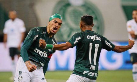 Gustavo Gomez e Rony do Palmeiras