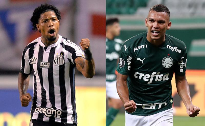 Marinho do Santos e Gabriel Souza do Palmeiras