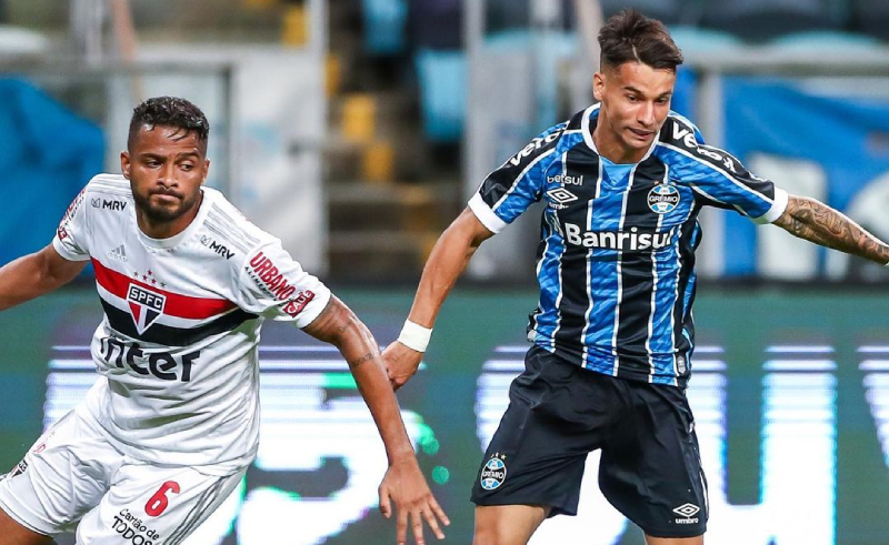 São Paulo x Grêmio Copa do Brasil 2020
