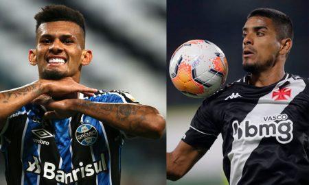 Tonhão do Grêmio e Leo Matos do Vasco