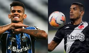 Tonhão do Grêmio e Leo Matos do Vasco