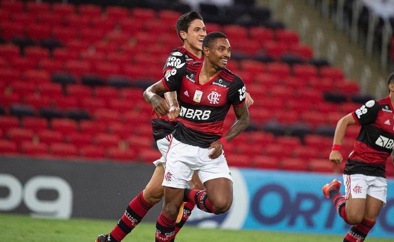 Vitinho e Pedro do Flamengo