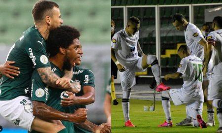 Destaques de Palmeiras e América-MG, que fazem uma das semifinais da Copa do Brasil