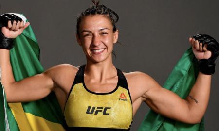 Amanda Ribas é lutadora peso-palha do UFC