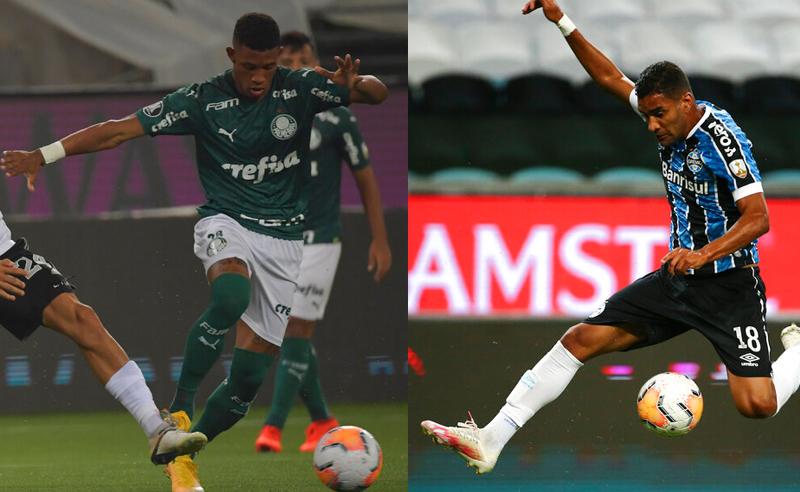 Palmeiras x Grêmio na 30ª rodada do Brasileirão 2020 ...