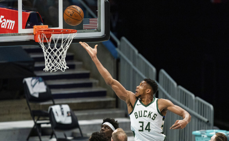 Giannis Antetokounmpo Milwaukee Bucks 1 fev