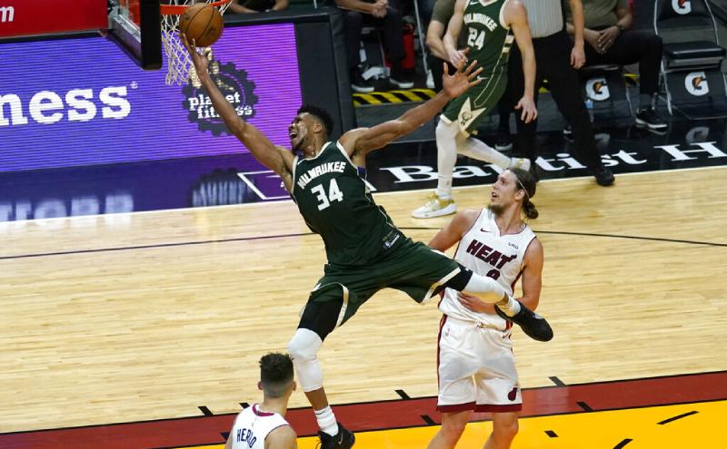 Giannis Antetokounmpo Milwaukee Bucks 11 jan