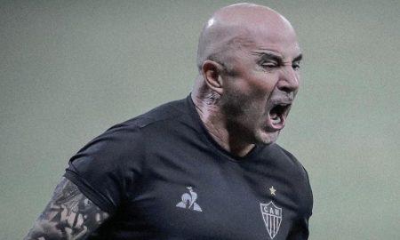 Jorge Sampaoli do Atlético-MG
