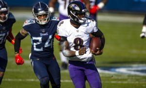 Lamar Jackson QB do Baltimore Ravens