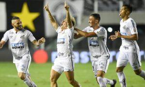 Time do Santos na Libertadores