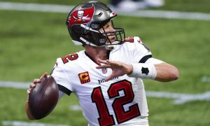 Tom Brady do Tampa Bay Buccaneers