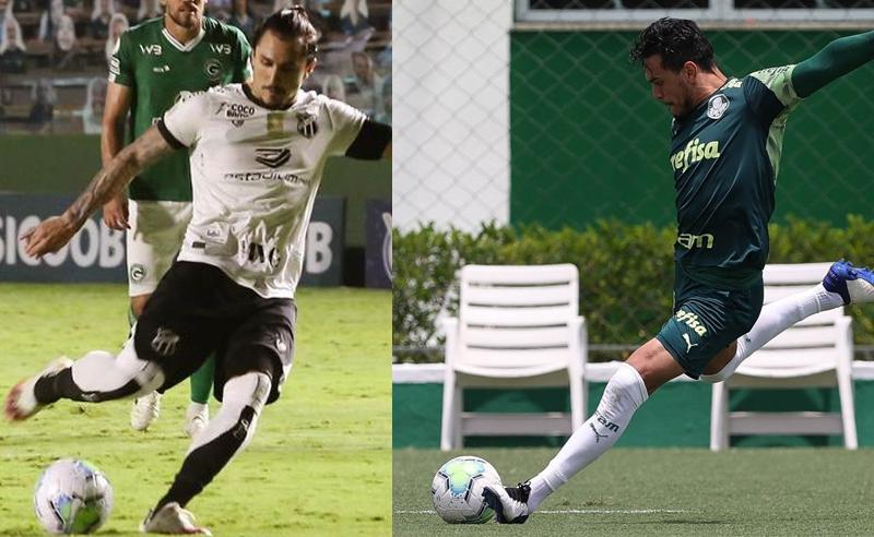 Vina do Ceará e Gustavo Gomez do Palmeiras