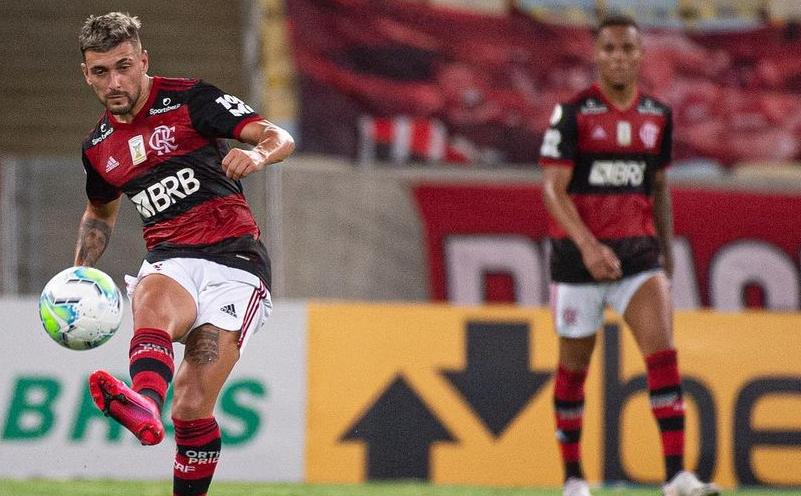 de Arrascaeta do Flamengo
