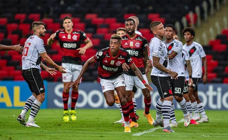 Bruno Henrique do Flamengo 5 fevereiro 2021