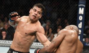 Paulo Borrachinha é lutador peso-médio do UFC