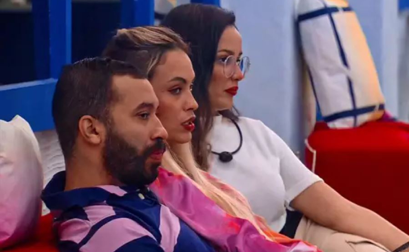 Gilberto, Sarah e Juliette do BBB21