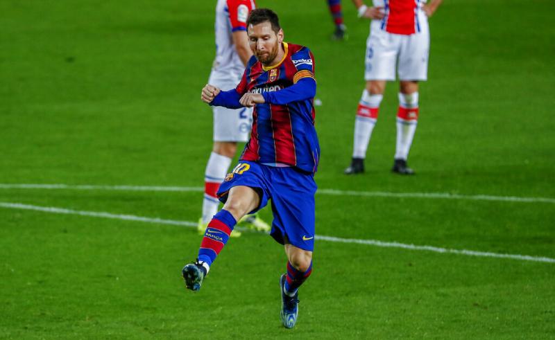 Lionel Messi do Barcelona