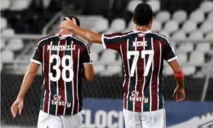 Martinelli e Nene do Fluminense