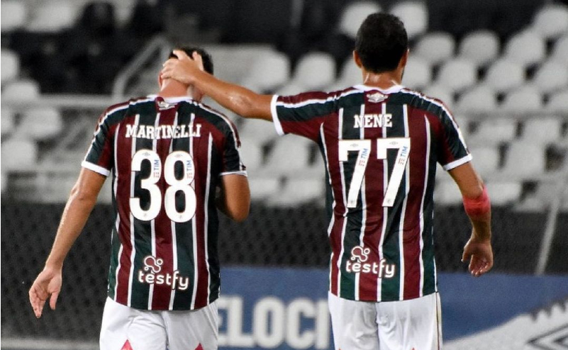 Martinelli e Nene do Fluminense