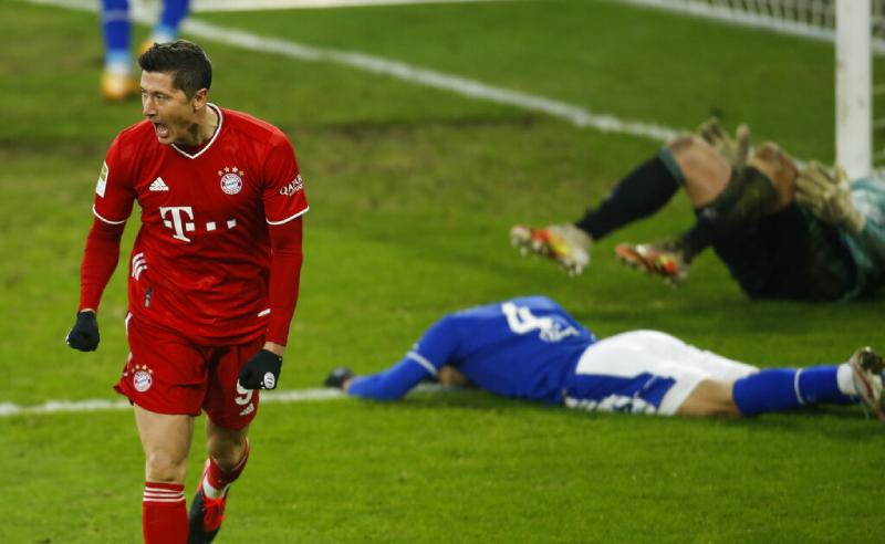 Robert Lewandowski do Bayern de Munique