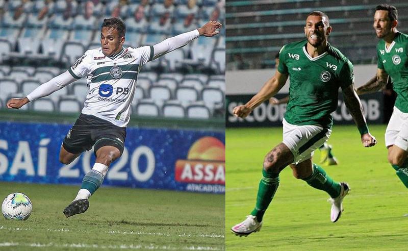 Robson do Coritiba e Fernandão do Goiás