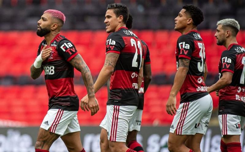 Time do Flamengo no Brasileirão 2020