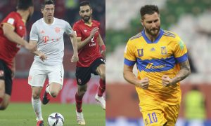 Lewandowski, do Bayern de Munique, e Gignac, do Tigres, no Mundial de Clubes 2021