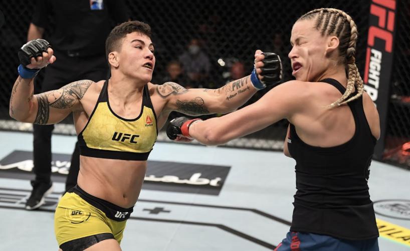 Jessica Andrade é lutadora peso mosca do UFC