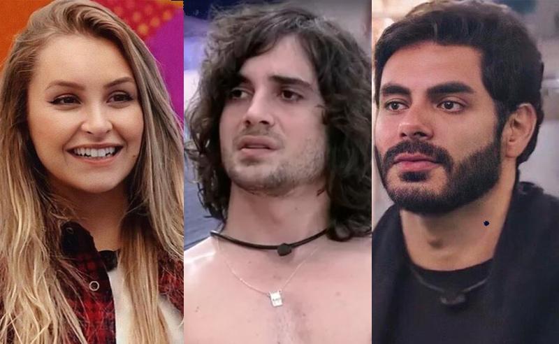 Carla Diaz, Fiuk e Rodolffo do BBB21