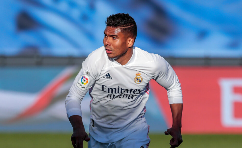 Casemiro do Real Madrid