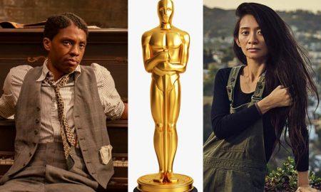 Chadwick Boseman Chloe Zhao Oscar 2021