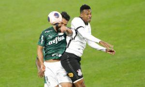 Luan do Palmeiras e Jô do Corinthians