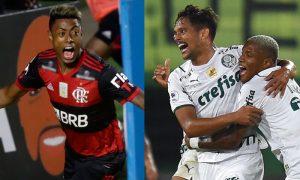 B. Henrique Flamengo e G. Scarpa Palmeiras09ABR2021