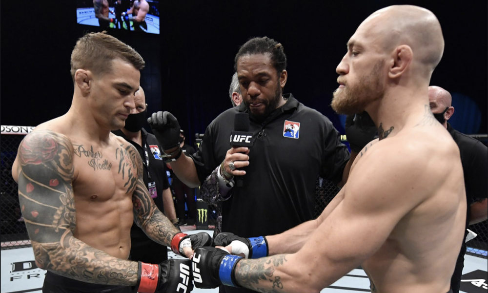 Dustin Poirier x Conor McGregor