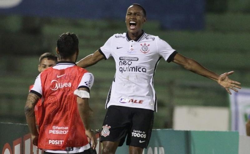 Caue Santos 1o. gol pelo Corinthians