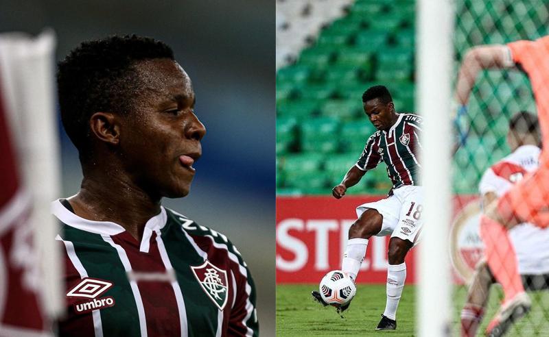 Cazares do Fluminense vs River Plate 270421