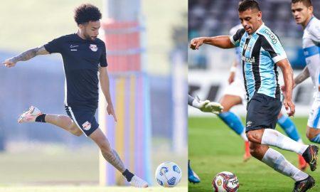 Claudinho Bragantino Diego Souza Grêmio Sul-Americana 2021
