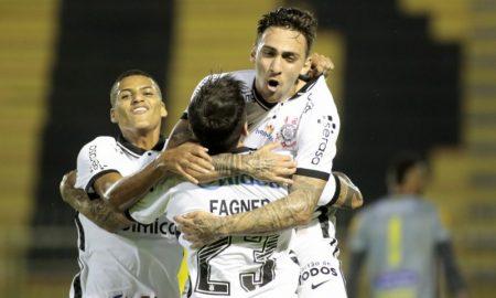 Jogadores do Corinthians