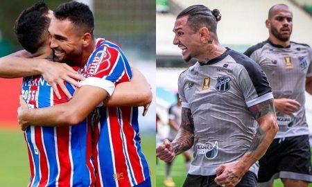 Destaques de Bahia e Ceará na Copa do Nordeste 3042021
