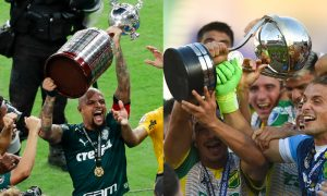 Felipe Melo do Palmeiras e time do Defensa y Justicia