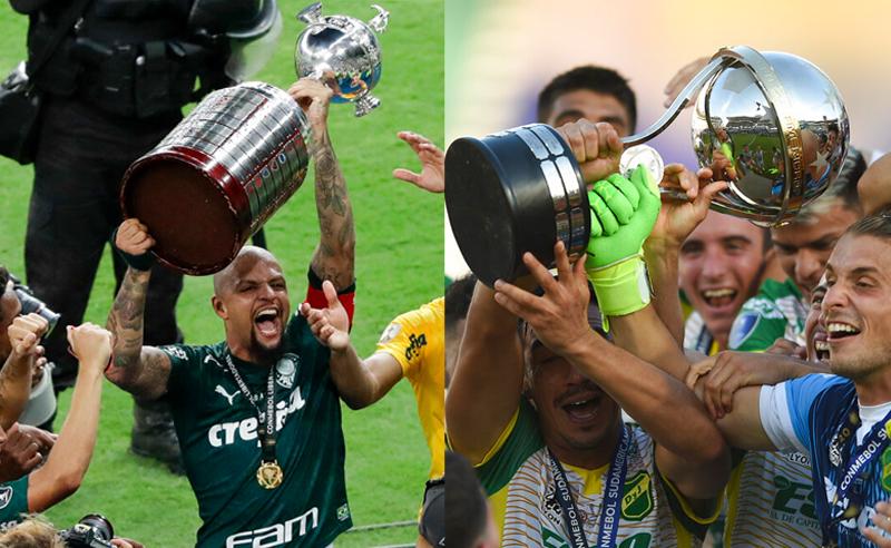 Felipe Melo do Palmeiras e time do Defensa y Justicia