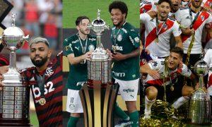 Flamengo Palmeiras River Plate Campeões Libertadores