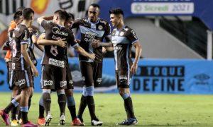 Gol do Corinthians contra o Santos Paulistao 2021