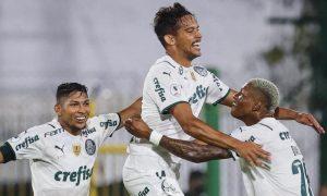 Gustavo Scarpa e Roni Palmeiras Libertadores 20042021