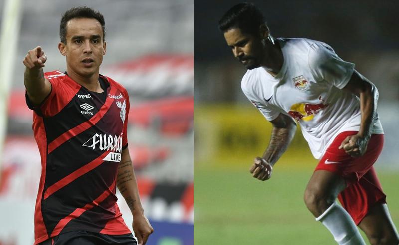 Jadson do CAP Aderlan Silva do RB Bragantino