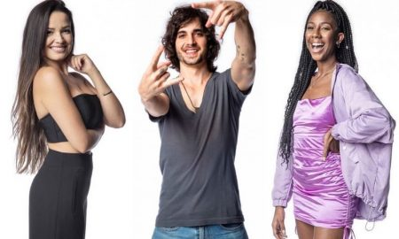 Juliette, Fiuk e Camilla, finalistas do BBB 21