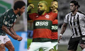 Luiz Adriano Palmeiras Gabigol Flamengo Hulk CAM