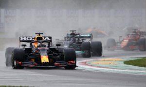 Max Verstappen da RBR Racing F1 Ímola