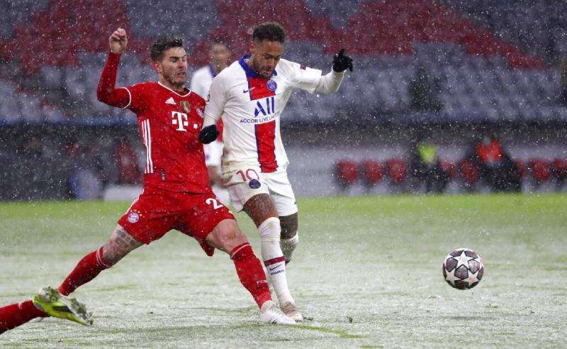 Neymar do PSG e Hernandez do Bayern 12042021